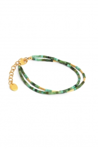 24karat Gold Plated and Turquoise Bracelet