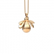 14K Yellow gold big bumble Bee