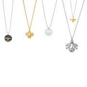 Assorted Bee Necklaces