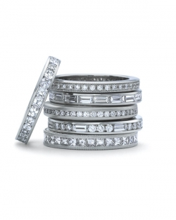 Precision Set #3 Channel set diamond bands
